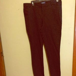 Old Navy Pixie Pant size 18